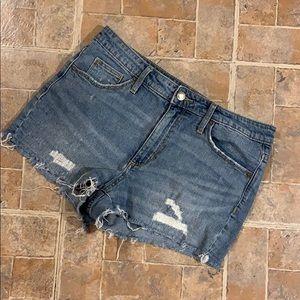 Universal Thread high rise jean shorts size 8